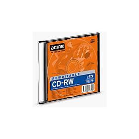 Диск CD-RW Acme 80MIN/700MB/12X слим