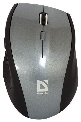Мышь беспроводная Defender PULSAR MM-655 серый