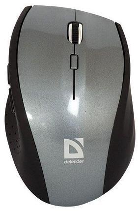 Мышь беспроводная Defender PULSAR MM-655 серый, фото 2