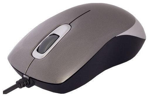 Мышь проводная Defender ORION MM-300G серый, фото 2