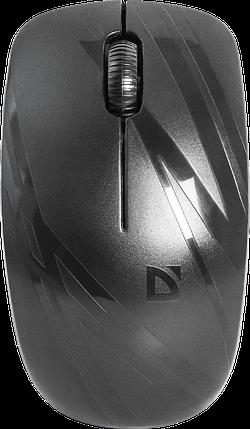 Мышь беспроводная Defender Datum MM-035 B черный, фото 2