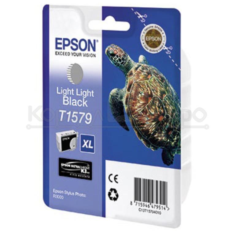 Картридж Epson C13T15774010 R3000 серый