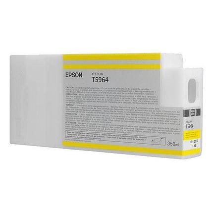 Картридж Epson C13T596400 SP 7900 / 9900 желтый, фото 2