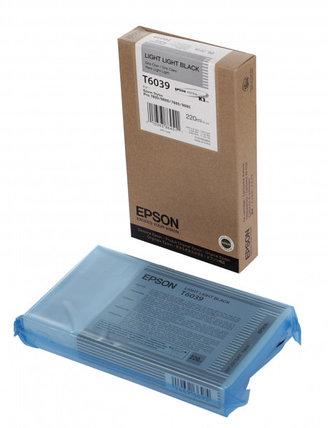 Картридж Epson C13T603900 SP-7880/9880 светло-серый, фото 2