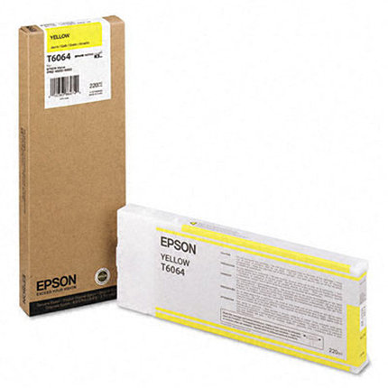 Картридж Epson C13T606400 SP-4880 желтый, фото 2