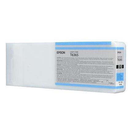 Картридж Epson C13T636500 SP 7900 / 9900 светло-голубой, фото 2