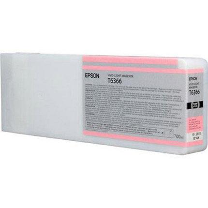 Картридж Epson C13T636600 SP 7900 / 9900 светло-пурпурный, фото 2