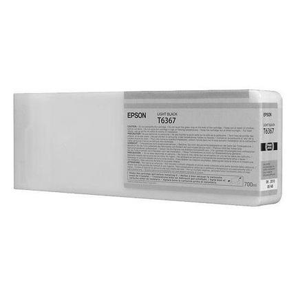 Картридж Epson C13T636700 SP 7900 / 9900 серый, фото 2