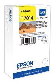 Картридж Epson C13T70144010 WP 4000/4500 SERIES XXL/желтый, фото 2