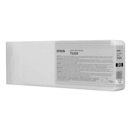 Картридж Epson C13T636900 SP 7900 / 9900 светло-серый, фото 2