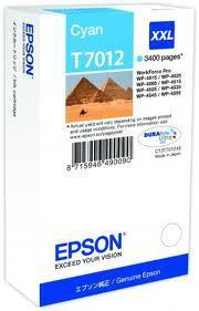 Картридж Epson C13T70124010 WP 4000/4500 SERIES XXL/голубой