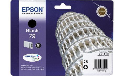 Картридж Epson C13T79114010 WF-5110DW/WF-5620DWF черный, фото 2
