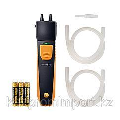 Смарт-зонд testo 510 i - Манометр дифференциального давления с Bluetooth, управляемый со смартфона/планшета