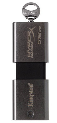USB Флеш 512GB 3.0 Kingston DTHXP30/512GB металл, фото 2