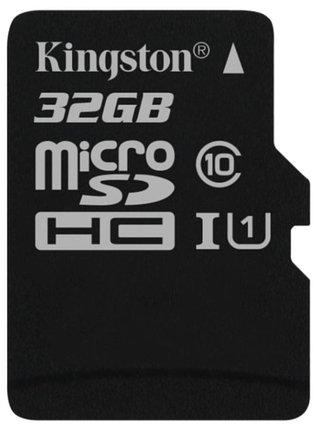 Карта памяти MicroSD 32GB Class 10 U1 Kingston SDC10G2/32GBSP, фото 2