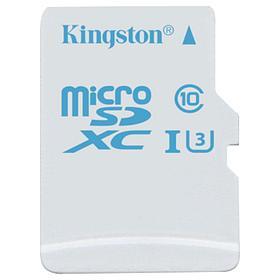 Карта памяти MicroSD 64GB Class 10 U3 Kingston SDCAC/64GBSP