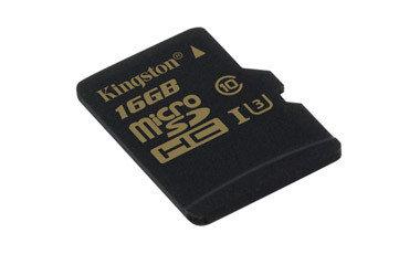 Карта памяти MicroSD 16GB Class 10 U3 Kingston SDCG/16GBSP, фото 2