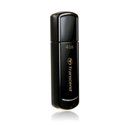 USB Флеш 4GB 2.0 Transcend TS4GJF350 черный, фото 2