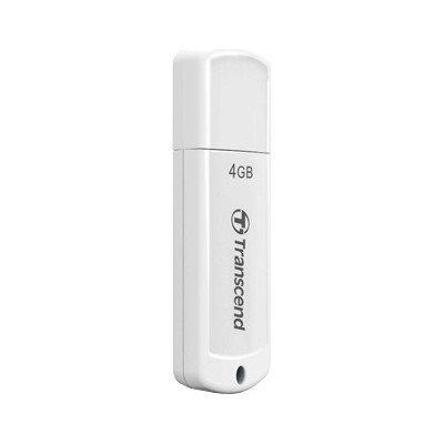 USB Флеш 4GB 2.0 Transcend TS4GJF370 белый, фото 2