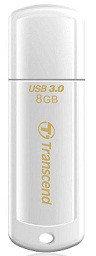 USB Флеш 8GB 3.0 Transcend TS8GJF730 белый, фото 2