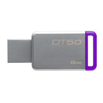USB Флеш 8GB 3.0 Kingston DT50/8GB металл, фото 2