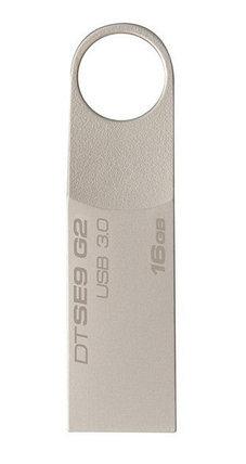 USB Флеш 16GB 3.0 Kingston DTSE9G2/16GB металл, фото 2