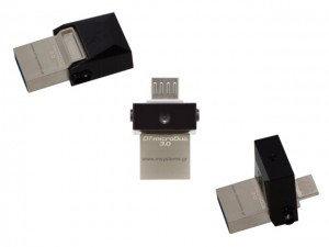 USB Флеш 32GB 3.0 Kingston OTG DTDUO3/32GB металл, фото 2