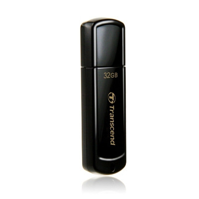USB Флеш 32GB 2.0 Transcend TS32GJF350 черный