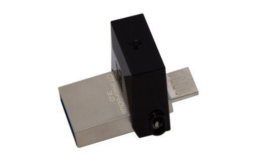 USB Флеш 64GB 3.0 Kingston OTG DTDUO3/64GB металл, фото 2