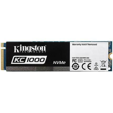 Жесткий диск SSD 960GB Kingston SKC1000/960G, фото 2