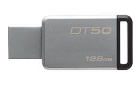 USB Флеш 128GB 3.0 Kingston DT50/128GB металл