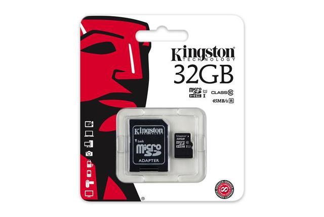 Карта памяти MicroSD 32GB Class 10 U1 Kingston SDC10G2/32GB, фото 2