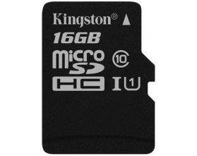 Карта памяти MicroSD 16GB Class 10 U1 Kingston SDC10G2/16GBSP