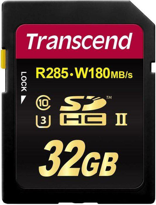 Карта памяти SD 32GB Class 10 U3 Transcend TS32GSD2U3