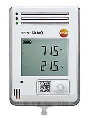 Testo 160 IAQ - testo 160 IAQ – WiFi-логгер данных с дисплеем и встроенными сенсорами температуры, влажности,