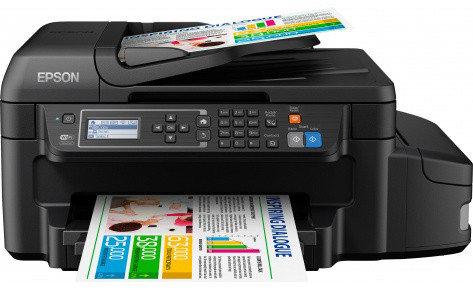 МФУ Epson L655 фабрика печати, факс.Wi-Fi, фото 2