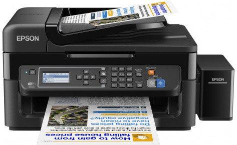 МФУ Epson L566 фабрика печати, факс,Wi-Fi, фото 2