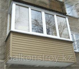 Утепление, обшивка балконов, Алматы