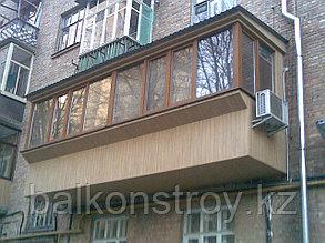 Отделка балконов, Алматы