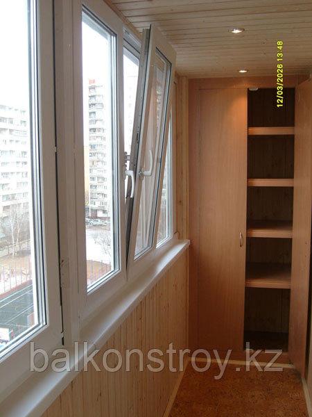 Утепление, облагораживание балконов, Алматы