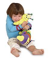 Мягкая развмвающая игрушка Гусеница