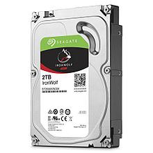 "Seagate ST2000VN004 Жесткий диск для NAS систем 2Tb HDD IronWolf SATA 6Gb/s 5900rpm 3.5"" 64Mb"