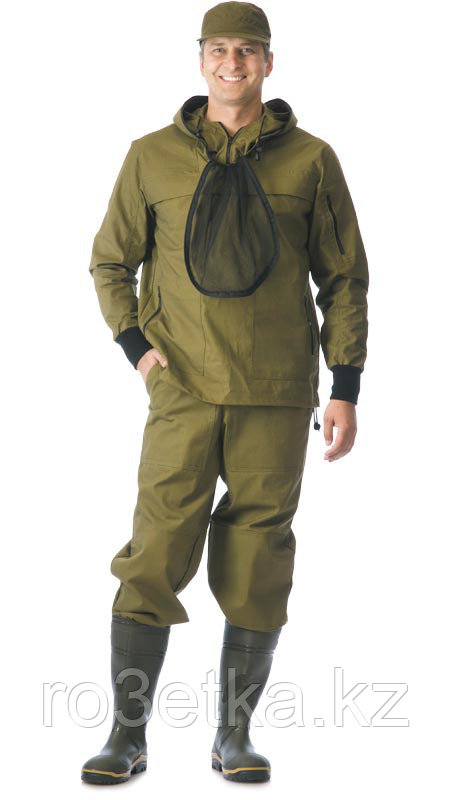 "Костюм противоэнцефалитный ""АНТИГНУС-3"": куртка, брюки (п-но 100% х/б хаки)"