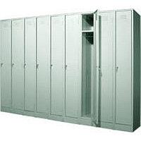 Шкаф металлический для одежды одинарный, фото 1