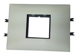 Суппорт/рамка Legrand 2 модуля, 85мм
