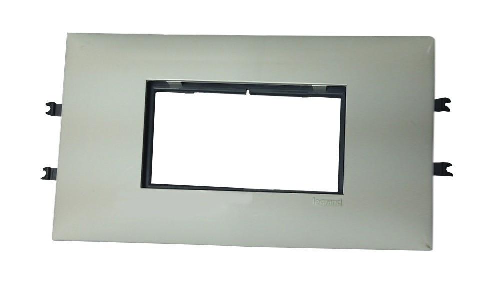 Суппорт/рамка Legrand 4 модуля, 85мм