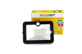 LED Прожектор SENSOR 30W (MegaLight)