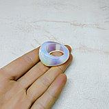 Перстень из граненого лунного камня, фото 2