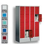 Шкаф металлический для одежды многосекционный, фото 4