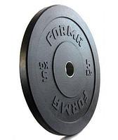 Диск бамперный для кроссфита 5 кг